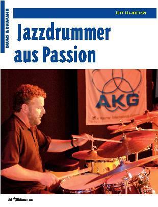 Jazzdrummer aus Passion