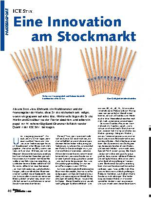 Eine Innovation am Stockmarkt