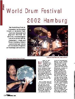 World Drum Festival 2002 Hamburg