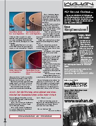 Drummers Handbuch Kesselgratungen (Teil 2)