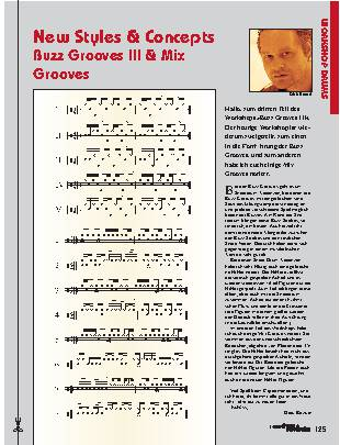 New Styles & Concepts Buzz Grooves III & Mix Grooves