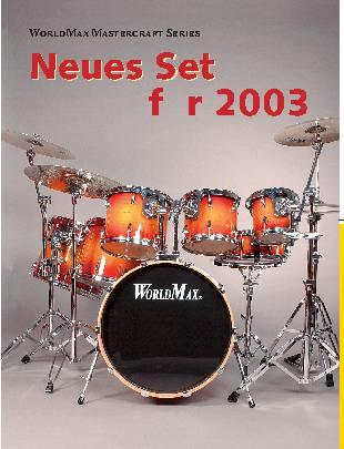 Neues Set für 2003