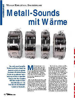 Metall-Sounds mit Wärme