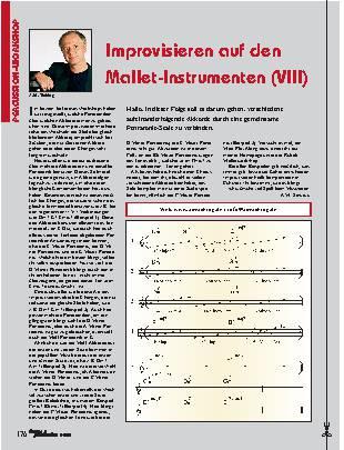 Improvisieren auf den Mallet-Instrumenten (VIII)