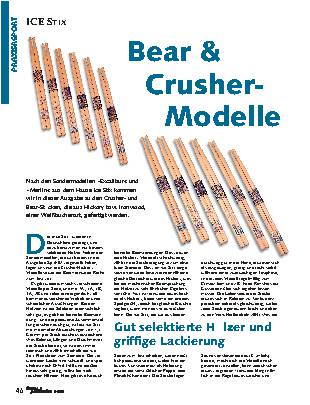Bear & Crusher-Modelle