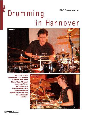 Drumming in Hannover