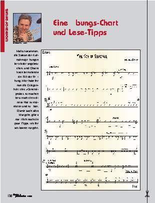 Eine Übungs-Chart und Lese-Tipps