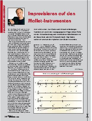 Improvisieren auf den Mallet-Instrumenten