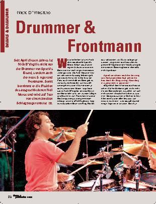 Drummer & Frontmann