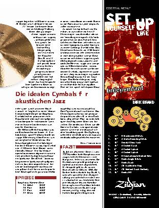 Die Jeff Hamilton Cymbals