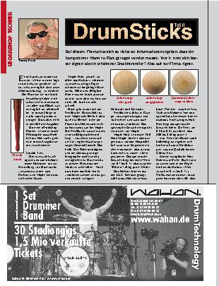 Drumsticks (Teil II)