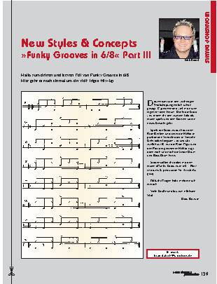 New Styles & Concepts Funky Grooves in 6/8 (Part III)