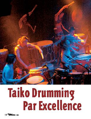 Taiko Drumming Par Excellence