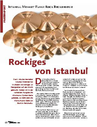 Rockiges von Istanbul