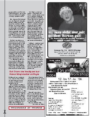 Drummers Handbuch Kesselmaterialien: Eiche und Nussbaum
