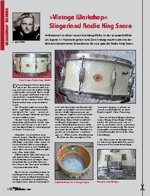 Vintage Workshop Slingerland Radio King Snare