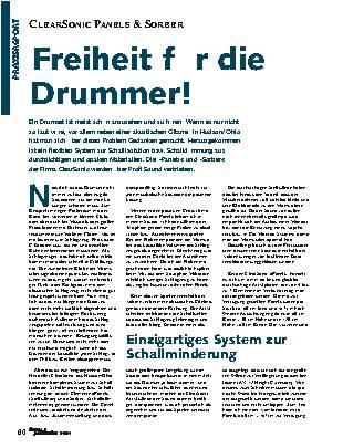 Freiheit für die Drummer!