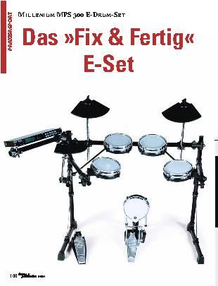 Das Fix & Fertig E-Set