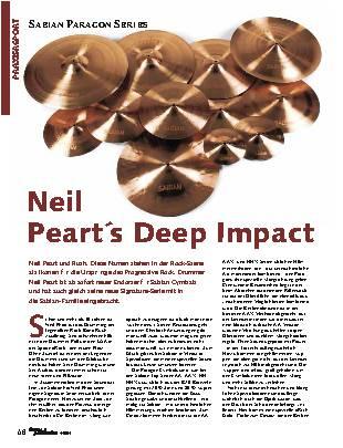 Neil Peart's Deep Impact