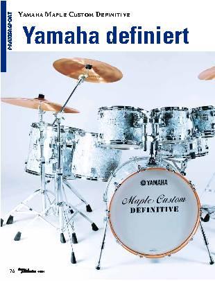 Yamaha definiert