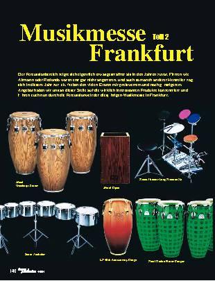 Musikmesse Frankfurt (Teil 2)