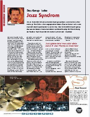 Das Europäische Jazz Syndrom