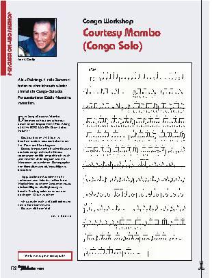 Courtesy Mambo (Conga Solo)