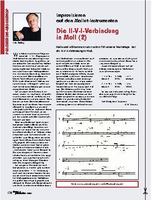 Die II-V-I-Verbindung in Moll (2)