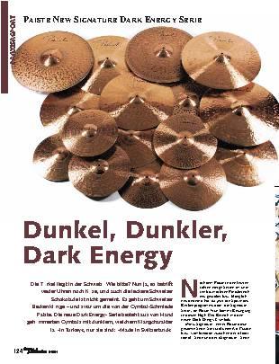 Dunkel, Dunkler, Dark Energy