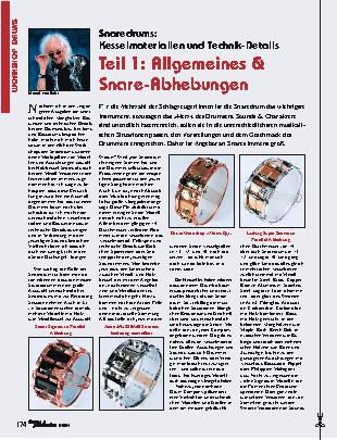 Teil 1: Allgemeines & Snare-Abhebungen
