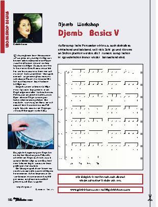 Djembé Basics V