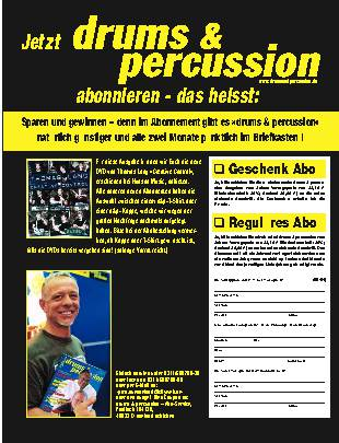drums & percussion Abo