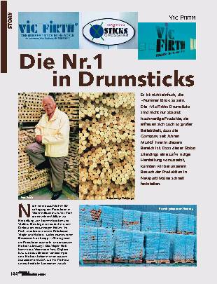 Die Nr.1 in Drumsticks