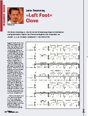 Left Foot Clave