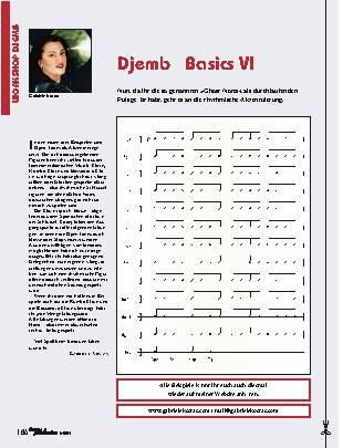 Djembé Basics VI