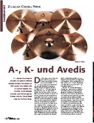 A-, K- und Avedis