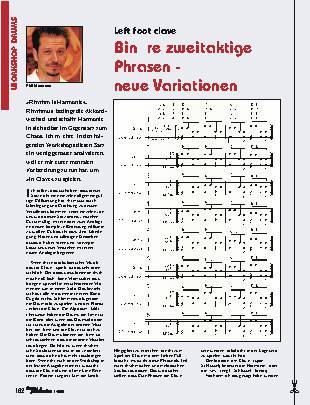 Binäre zweitaktige Phrasen - neue Variationen