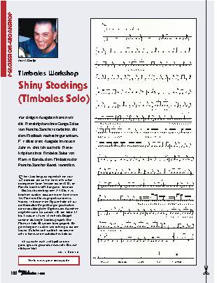 Shiny Stockings (Timbales Solo)