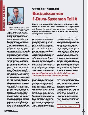 Basiswissen von E-Drum-Systemen (Teil 4)