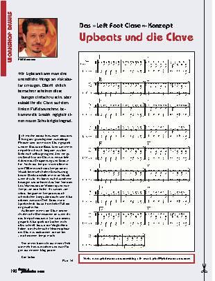 Upbeats und die Clave
