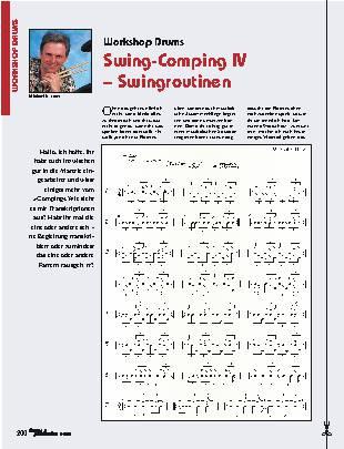 Swing-Comping IV – Swingroutinen