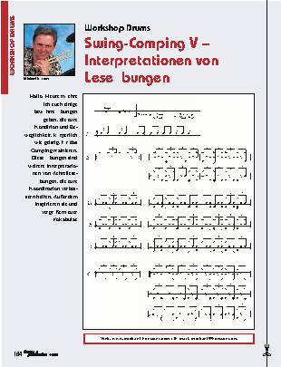 Swing-Comping V – Interpretationen von Leseübungen