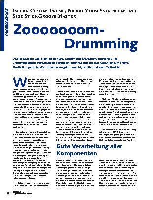 Zooooooom-Drumming