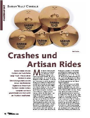 Crashes und Artisan Rides