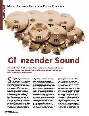 Glänzender Sound