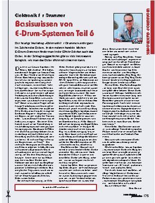 Basiswissen von E-Drum-Systemen (Teil 6)