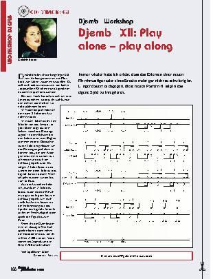 Djembé XII: Play alone – play along