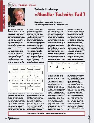 Moeller Technik (Teil 7)