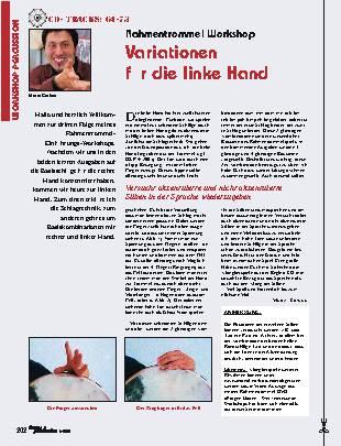 Variationen für die linke Hand