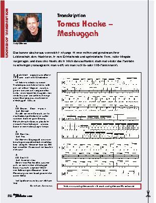 Tomas Haake – Meshuggah